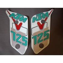 KTM stickers 125 / 008