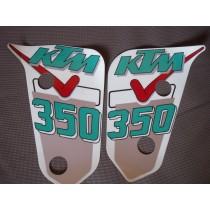 KTM stickers 350 / 009