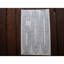 KTM sticker 600 / 036